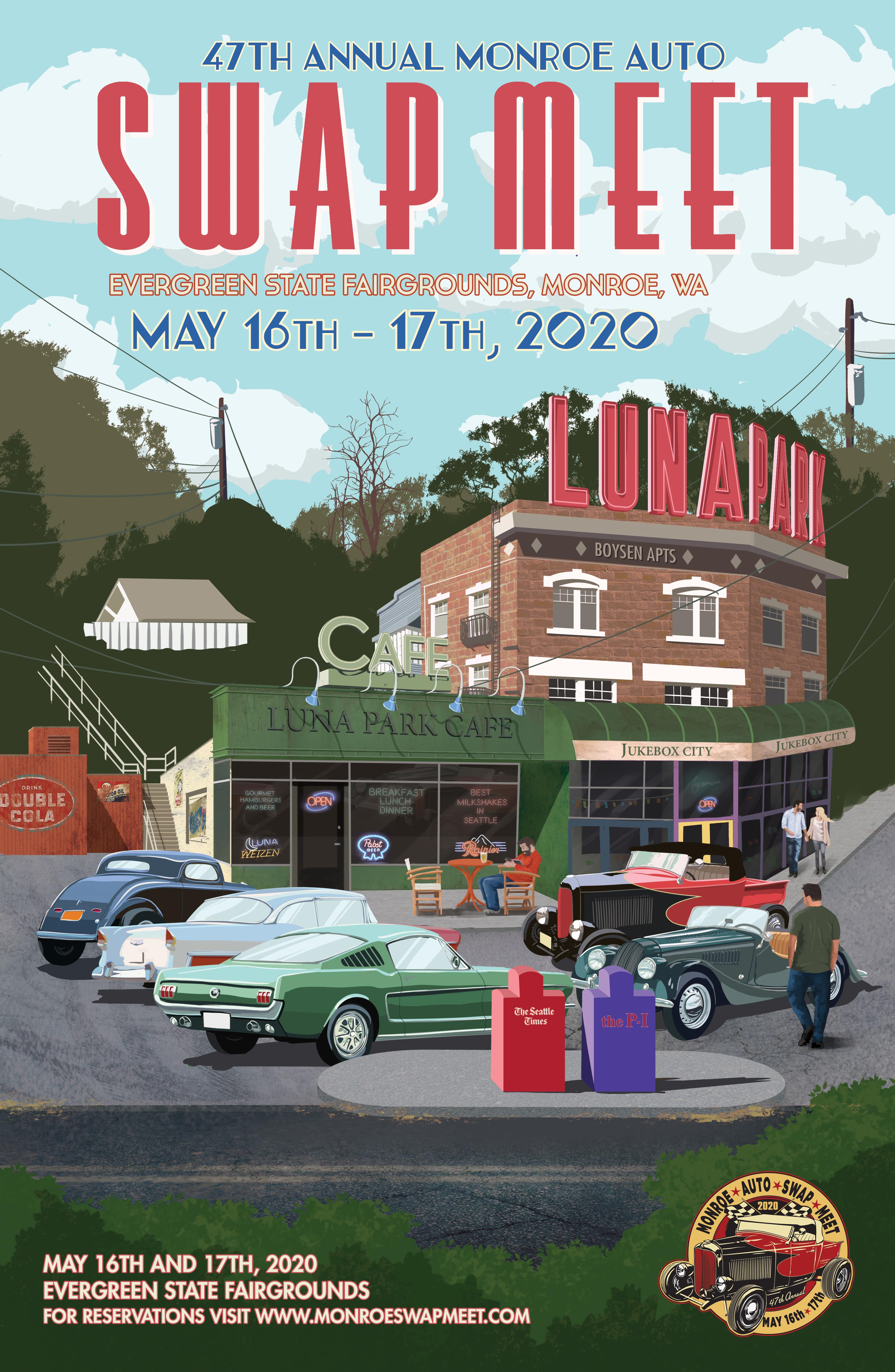 Evergreen State Fair 2020.2020 Monroe Swap Meet May 16th 17th 2020 Monroe Auto